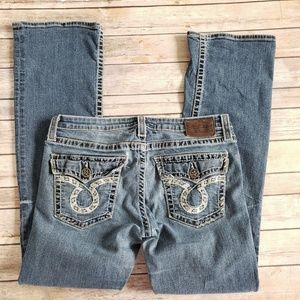 Big star Jeans boot cut with embellished pockets